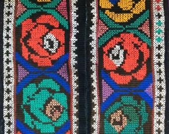 VINTAGE TRIM saye gosh gosha asian textile costuming tribal belly dance lakai uzbek