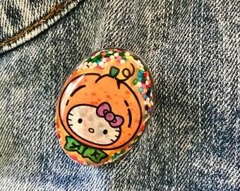 Hello Kitty Halloween Brooch