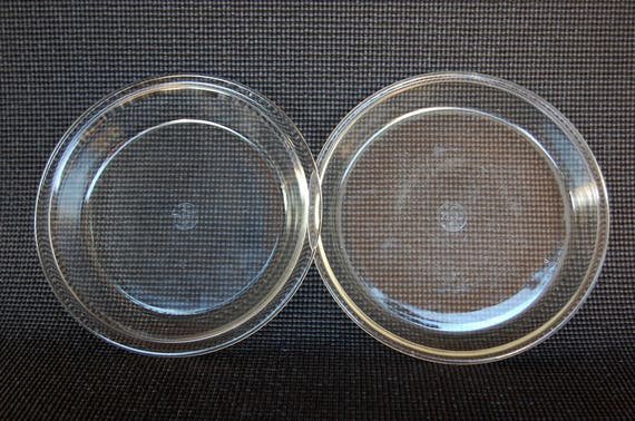 Like this item? & Set of 2 Early Dollar Sign 9 Inch Pyrex Pie Plates 9 inch