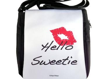 Doctor River Song Who Hello Sweetie Medium Messenger Bag