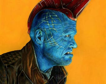Limited Edition Yondu Poster