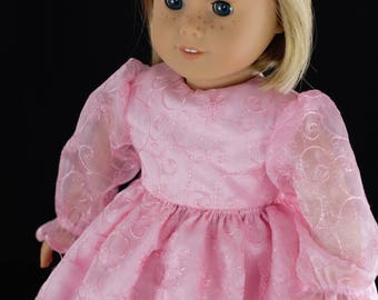 A Princess Dress for an American girl Doll or other 18 inch doll