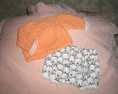 Made to Order Pink Bloomer Sets (RESERVED for N)
