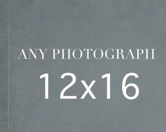 SALE Any 12x16 Photography Print