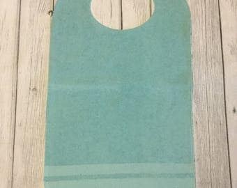 Adult Bib/Clothing Protector/Price reduction due to flaw