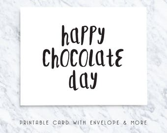easter card, easter note, easter greetings, happy choc day, chocolate day, easter download, easter printable