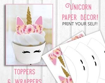 Unicorn wrapper | Etsy