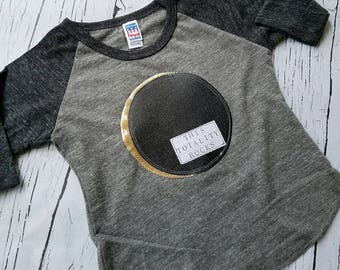 Solar eclipse shirt, eclipse tee, total eclipse, children astronomy tee, kid eclipse t shirt, this totality rocks, eclipse 2017