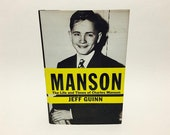 Vintage True Crime Book Manson: The Life and Times of Charles Manson by Jeff Guinn Hardcover