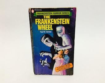 Vintage Horror Book The Frankenstein Wheel bu Paul W. Fairman 1972 Paperback
