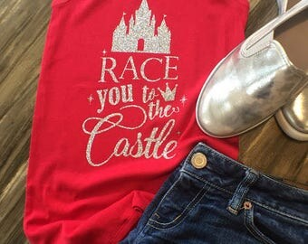 Race you to the Castle Shirt
