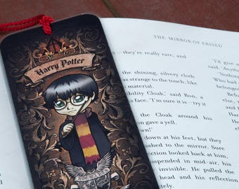 Harry Potter Bookmark With Tassel