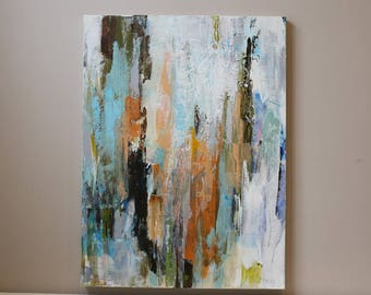 40x30 inch-abstract painting,painting on canvas,acrylic painting,modern painting,stripe art,stripe painting