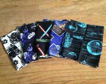 READY TO SHIP Star Wars Snack Bags ~ 5 pack