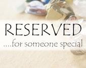 Summer Sale - DEPOSIT - Miniature Memento Solid 14k Gold Ring Set - Pink Gemstone Ring - Miniature Wedding Bands - Linda McNair