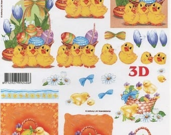 13 - 1 image cutting little Easter chicks