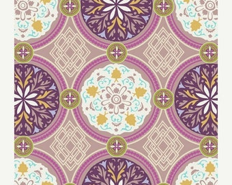 SALE 30% OFF - Medallion in Iron BA-302 - Bazaar Style - Patricia Bravo for Art Gallery Fabrics - By the Yard