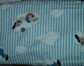Raggedy Ann & Andy Flannel Fabric