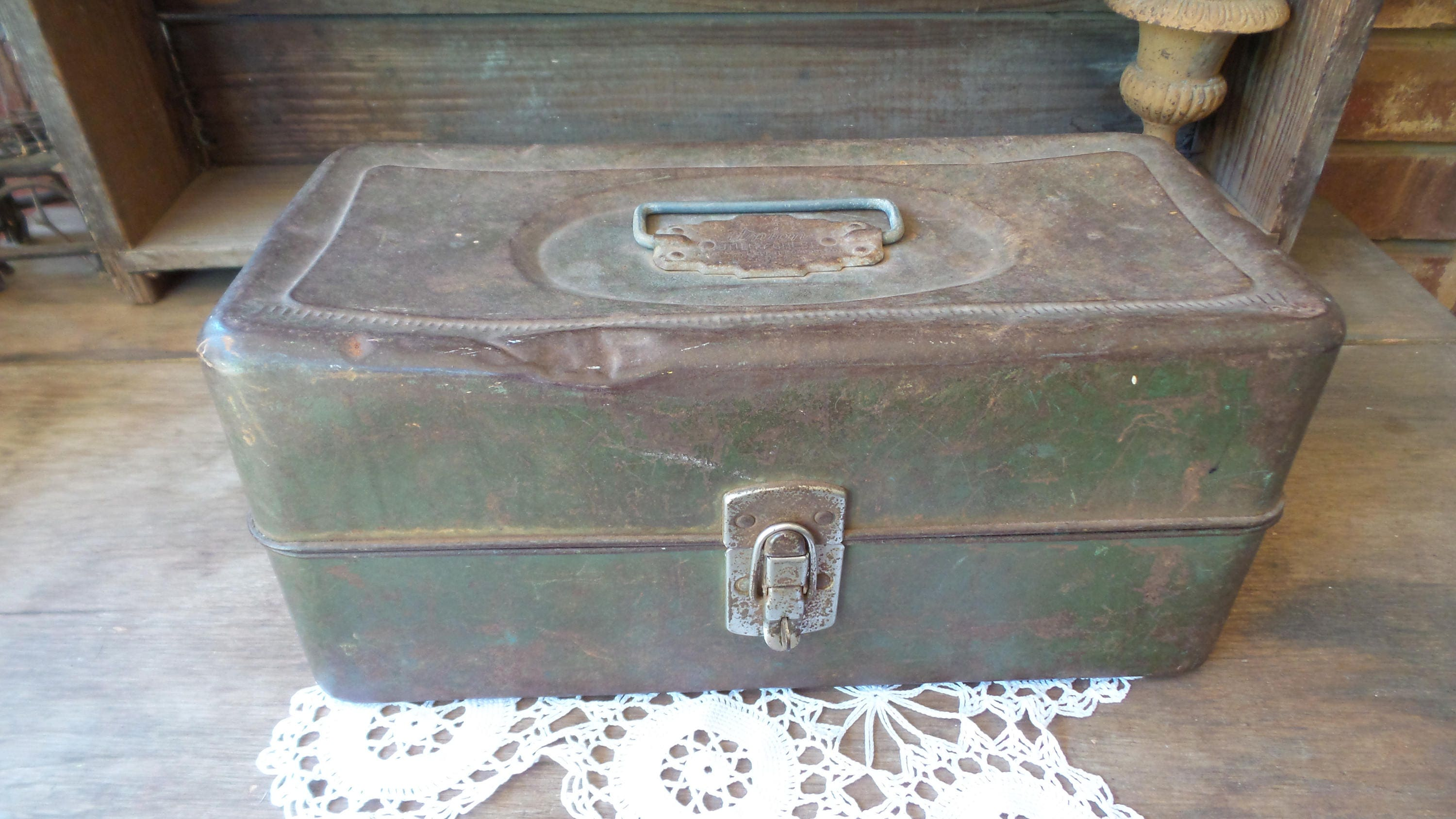 Fishing tackle craft supplies -  Vintage Craft Supply Organizer Sold By Pixiegoes2market