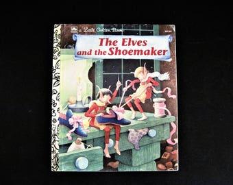 Elves Christmas Book, Little Golden Book, Christmas Book, Elves and Christmas, Kids Christmas Book, Golden Elves Book, Elves Golden Book