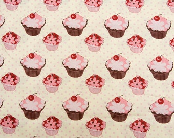 Cupcakes with cherries on top -25""