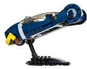 Police Spinner V4 Custom LEGO Piece Set