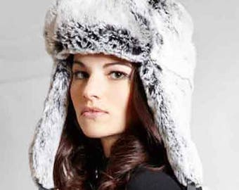 Tissavel Faux Fur Trapper in Snowball