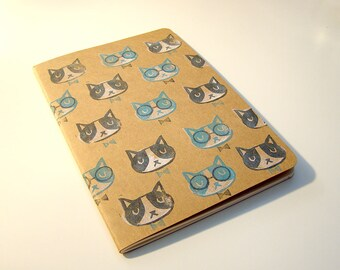 Studious Cats Sketchbook or Notebook