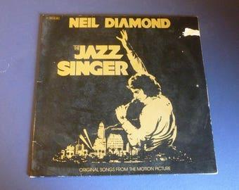 Neil Diamond The Jazz Singer Vinyl Record LP 1C 064-86-266 Capital Records 1980