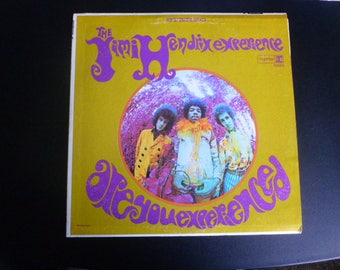 On Sale Vintage The Jimi Hendrix Experience Are You Experienced ? Vinyl Record LP RS 6261 Reprise Records 1968