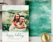 NEW - 2017 Christmas Card Templates vol.14 7x5 inch card template