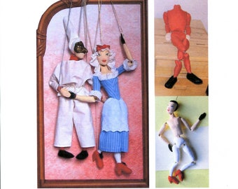 SALE!! Cloth Marionettes puppets epattern PDF file