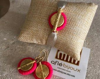 Aflé Bijoux set Afiba Earrings + Bracelet