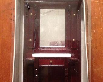 Miniature dollhouse  Furniture Hall Stand
