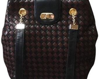 BOTTEGA VENETA Lambskin  Intrecciato Handbag