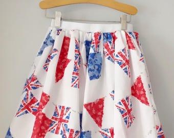 British Bunting Skirt
