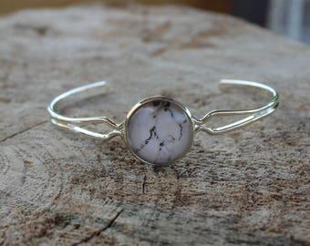Bracelet petite merveille marbre  // fait au quebec