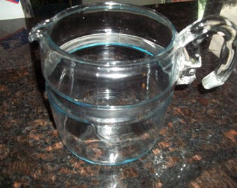 6 Cup Pyrex Coffee Pot ONLY