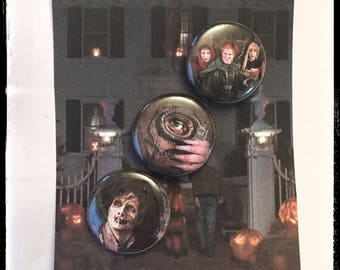 "Hocus Pocus - 1"" Button Set"