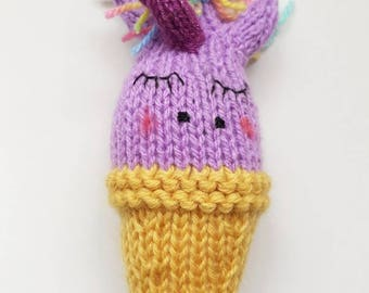 Unicorn Baby Rattle - Baby Toy