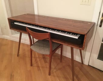 IN STOCK! Mid Century Style Keyboard Stand / Desk
