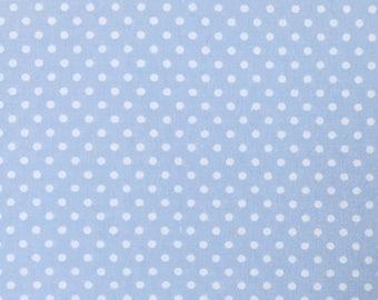 Robert Kaufman Fabric, Pimatex Basics, Pale Blue, BT-3482-16, polka dots, pin dots