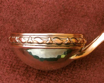 Coffee Measure or Ladle Copper and German Silver