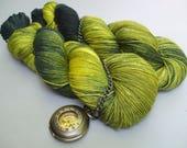 Soft Socks 4 ply Yarn. Greenfinch