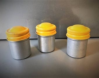 Awesome Vintage Kodak Film Containers (Set of 3)