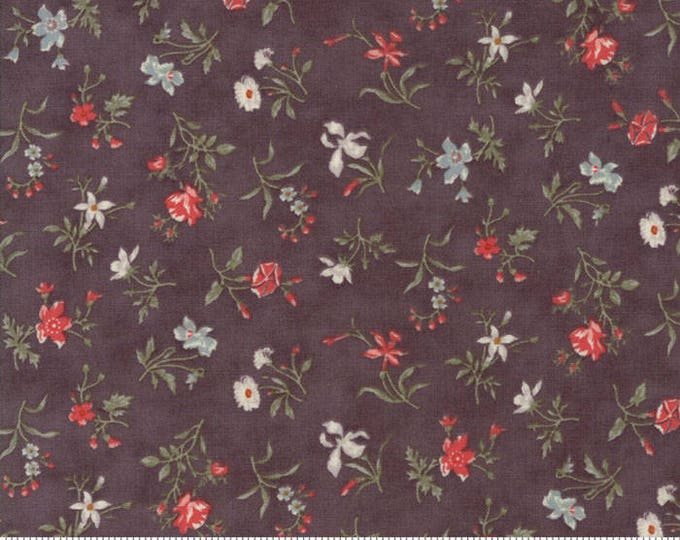 Quill Dark Mauve 44154 16 by 3 Sisters for moda fabrics