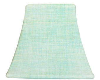 Seafoam Linen - SLIP COVERS for lampshades