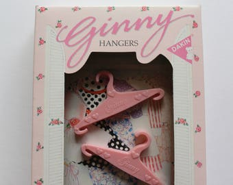 Vintage Ginny Vogue Doll Clothing Hangers Set of 6 NEW 1984