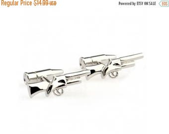 Limited Time Offer Gun Cufflinks - Groomsmen Gift - Men's Jewelry - Gift Box Included