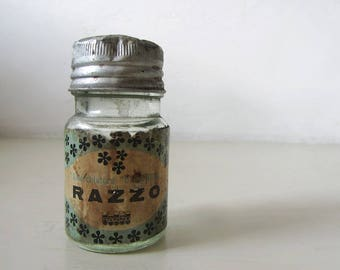 Vintage Italian Glass Jar